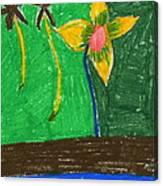 Island Flower Canvas Print