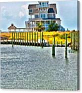 Island House Canvas Print