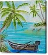 Island Paridise  Canvas Print