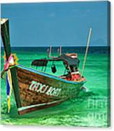 Island Taxi  Canvas Print