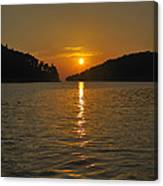 Island's Sunset Canvas Print