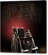 Isolation Through Disability, Artwork Canvas Print