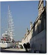 Istanbul Cruise Ship Terminal Canvas Print