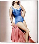 It Started In Naples, Sophia Loren, 1960 Canvas Print