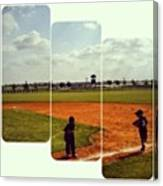 It Was A Great Day For Tball... #sports Canvas Print