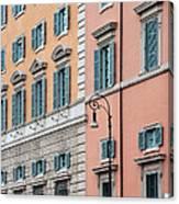 Italian Facade Canvas Print