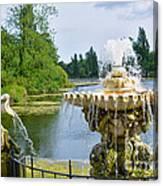 Italian Fountain London Canvas Print