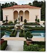 Italian Renaissance Garden Canvas Print