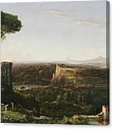 Italian Scene Composition Canvas Print