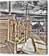 Italian Village-sydney Harbor Bridge Canvas Print