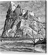 Italy: Castle Of Ischia Canvas Print