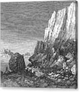 Italy: Earthquake, 1856 Canvas Print