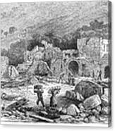 Italy: Earthquake, 1881 Canvas Print