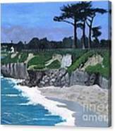 Its Beach Santa Cruz Ca Canvas Print