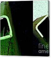 It's Not Easy Bein' Green Canvas Print