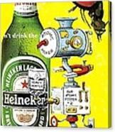 It's Still Beer Canvas Print