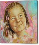 Ivana's Portrait Canvas Print
