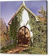 Ivy Church Canvas Print