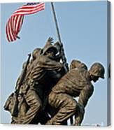 Iwo Jima Memoria 2 Canvas Print