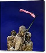 Iwo Jima Memorial Front View Canvas Print