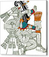 Iztlacoliuhqui, Aztec God Of Frost Canvas Print