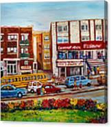 J Slawner Ltd Cote Des Neiges Canvas Print