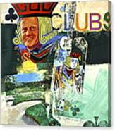 Jack Of Clubs 50-52 Canvas Print
