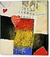 Jack Of Hearts 46-52 Canvas Print