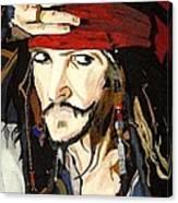 Jack Sparrow Print Canvas Print