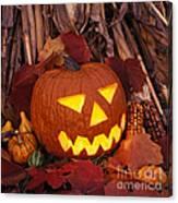 Jack's Grim Grin - Fm000065 Canvas Print