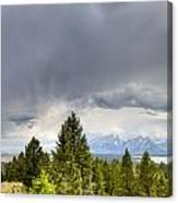 Jackson Hole Thunderstorms Canvas Print