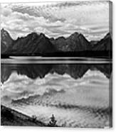 Jackson Lake Wyoming Canvas Print