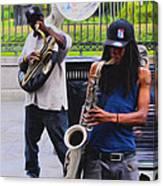 Jackson Square Jazz Canvas Print