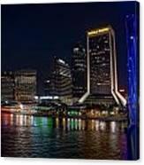 Jacksonville Florida Riverfront Canvas Print
