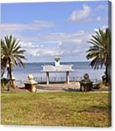 Jacksonville Park View Canvas Print