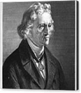Jacob Grimm (1785-1863) Canvas Print