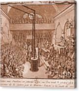 Jacobin Club Meeting Canvas Print