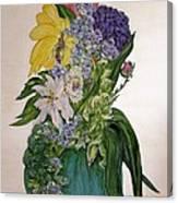 Jade Vase  Canvas Print