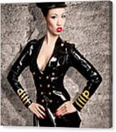 Jade Vixen Military 1143 Canvas Print