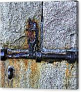 Jail Bolt Canvas Print