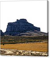 Jailhouse Rock And Courthouse Rock Canvas Print
