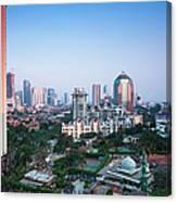 Jakarta Canvas Print