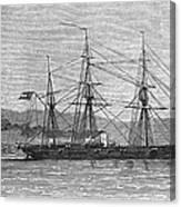 Jamaica: Css Alabama, 1863 Canvas Print