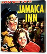 Jamaica Inn, Charles Laughton, Maureen Canvas Print