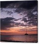 Jamaican Sunset Canvas Print