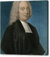 James Bradley, English Astronomer Canvas Print