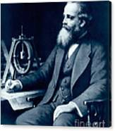 James Clerk Maxwell, Scottish Physicist Canvas Print