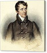 James Fenimore Cooper Canvas Print