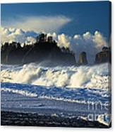 James Island Surf Canvas Print