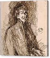 James Mcneill Whistler 1834-1903 Canvas Print